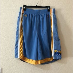 🏀 Like New Men's adidas Nuggets Shorts